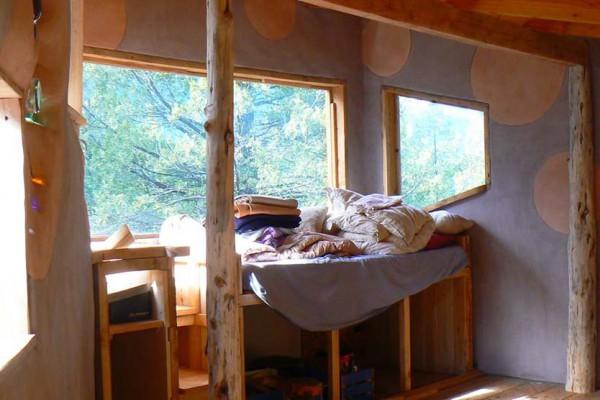 Ventanas del cuarto de Magnolia, altillo de la casa (julio 2014)