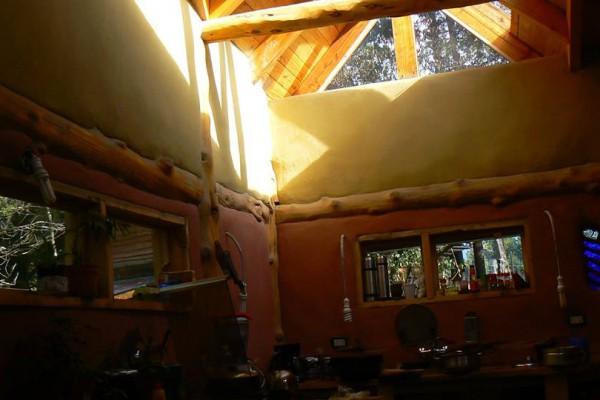 Lucarna de vidrio de la casa (noviembre 2014)