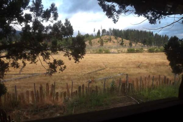 Vista oeste desde la habitación del mangrullo (enero 2016)